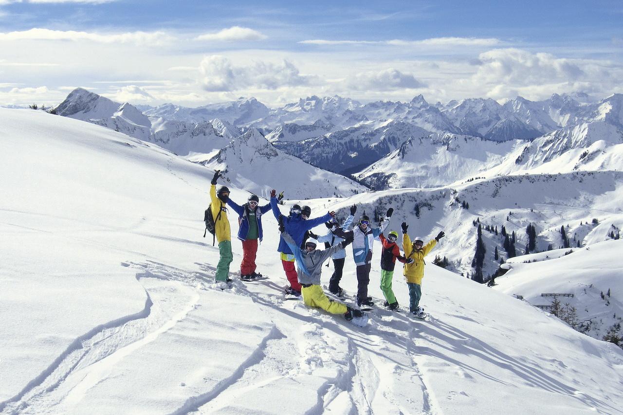 Snowboardreisen